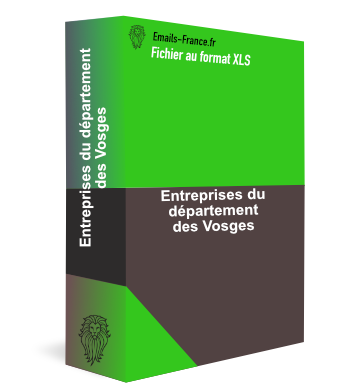 Emails des entreprises vosges emails for Vosges code postal