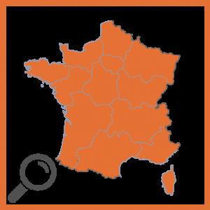 Emails par région