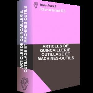 ARTICLES DE QUINCAILLERIE, OUTILLAGE ET MACHINES-OUTILS