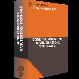 CONDITIONNEMENT, MANUTENTION, STOCKAGE