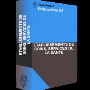 ETABLISSEMENTS DE SOINS, SERVICES DE LA SANTE