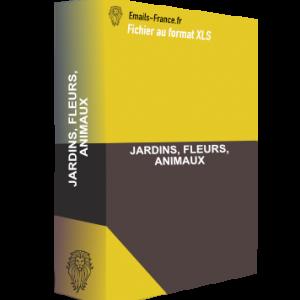 JARDINS, FLEURS, ANIMAUX
