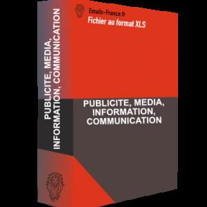PUBLICITE, MEDIA, INFORMATION, COMMUNICATION