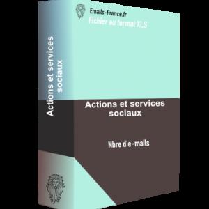 actions et services sociaux
